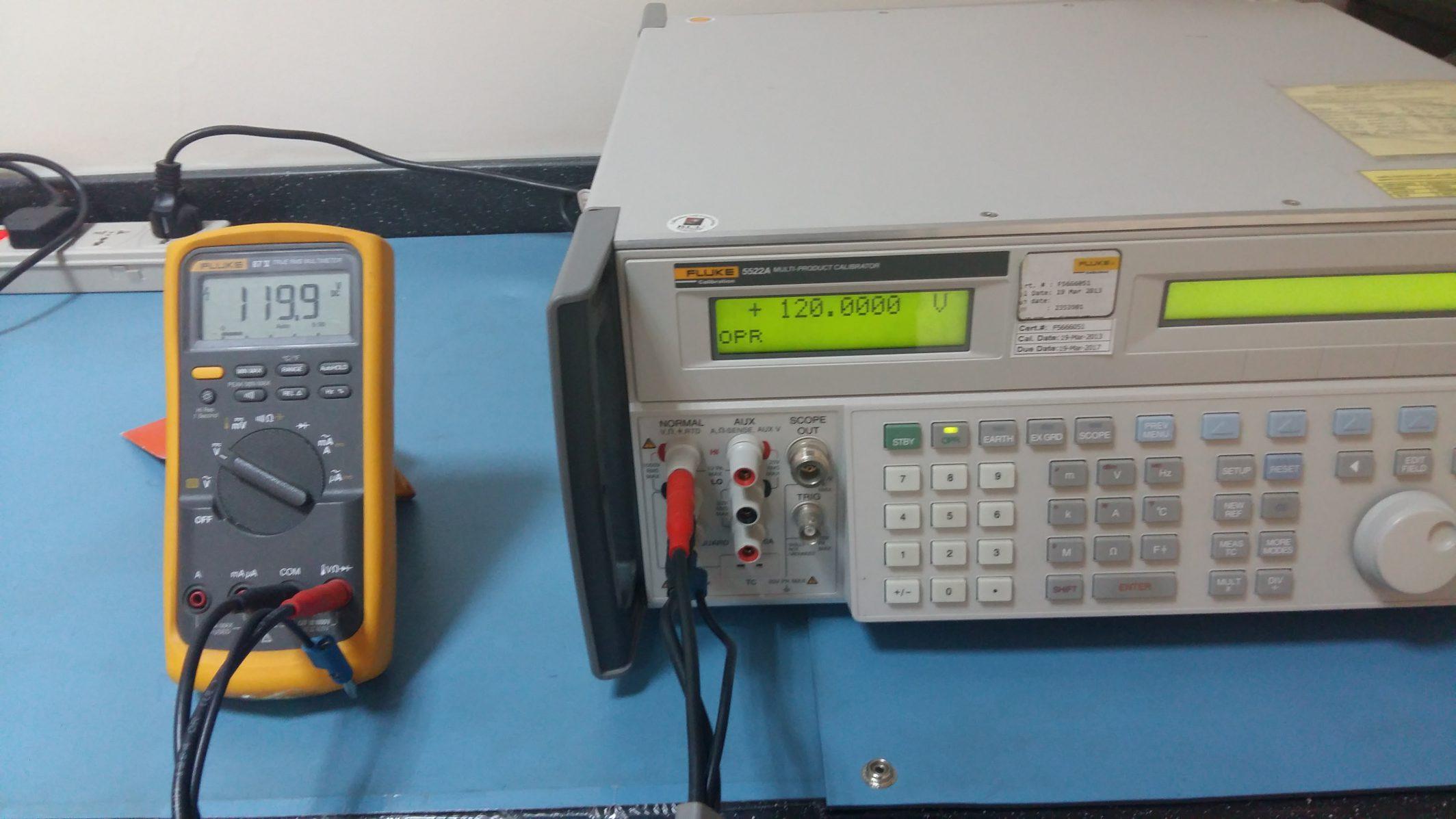 How to Calibrate Fluke 87 Digital Multimeter Using Fluke