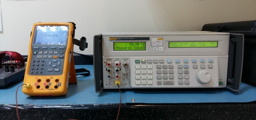 Thermocouple Wire Calibration Procedure – Type K Thermocouple