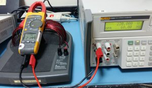 Set up for Voltage, Resistance and Frequency Verification