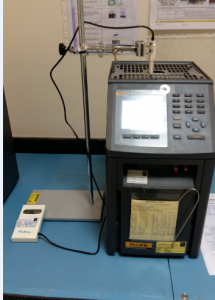 Calibration Set up of Digital Thermometer Using Metrology Well
