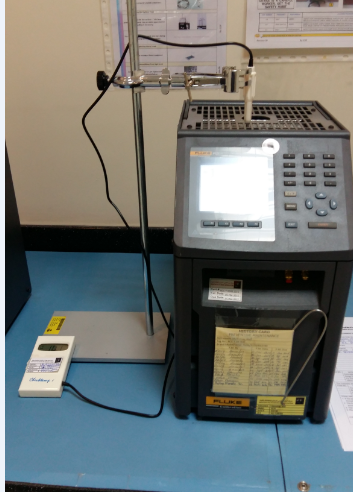 Temperature Calibration by Using a Metrology Well