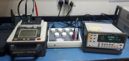 Megger Insulation Tester Calibration Procedure