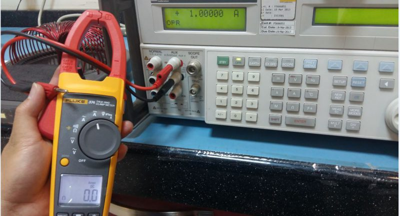 How to Verify the Accuracy of a Clamp Meter without using a Standard Coil?