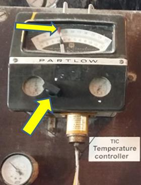 Partlow Temperature Switch Calibration And Adjustment