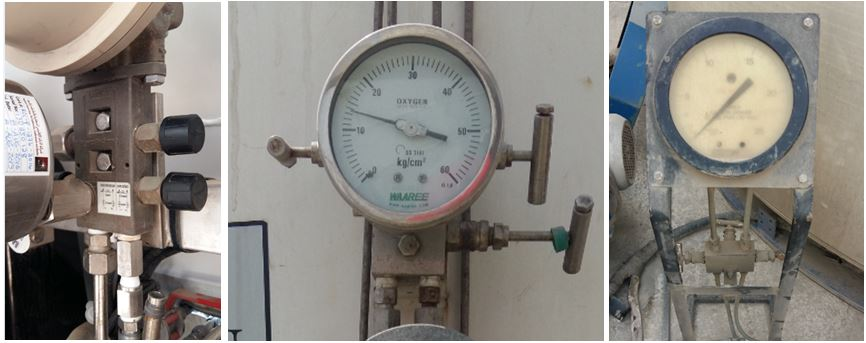 Sample Diffrential Pressure Level Guage with Manifold