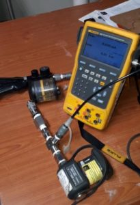 Fluke 754 with handpump and a pressure module