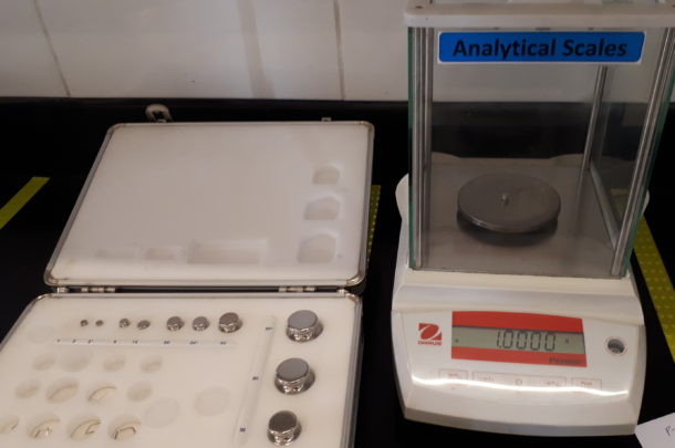 Calibration of Analytical Balance – Answering the 'HOW's ...