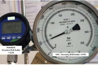 Differences Between Accuracy, Error, Tolerance, and Uncertainty  in a Calibration Results